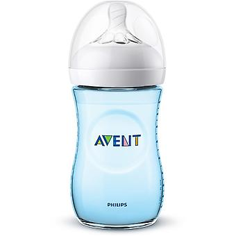 Avent Natural 2.0 suction bottle 260ml Blue