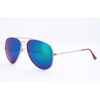 sunglasses pilot glasses oil blue mirror glass Classic pilot