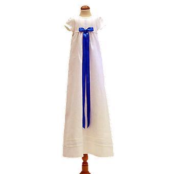 Robe de baptême Grace Of Sweden, Short sleeveTurquoise Broad Bow.   Tr.a.k.