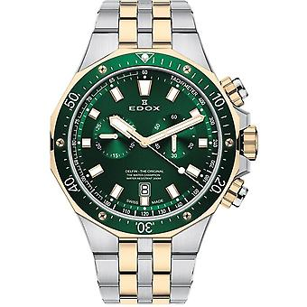 Edox 10109 357JVM NID Delfin Relógio Masculino