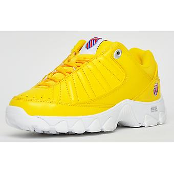 K Swiss ST529 Exclusive Heritage Cyber Yellow / White