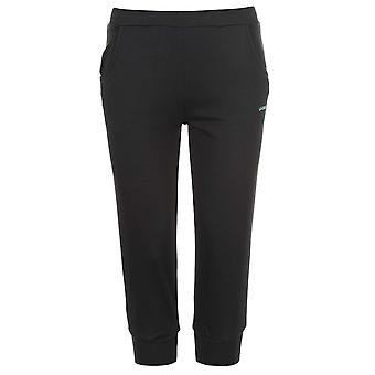 LA Gear Womens Ladies Three Quarter Interlock Pants Trousers Bottoms Clothing