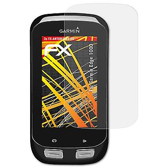 atFoliX Glass Protector compatible with Garmin Edge 1000 Glass Protective Film 9H Hybrid-Glass