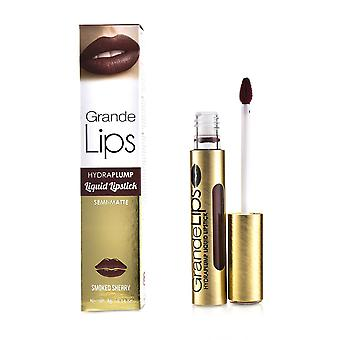 Grande Lips Plumping Flydende Læbestift (Semi Matte) # Røget Sherry 4g/0.14oz