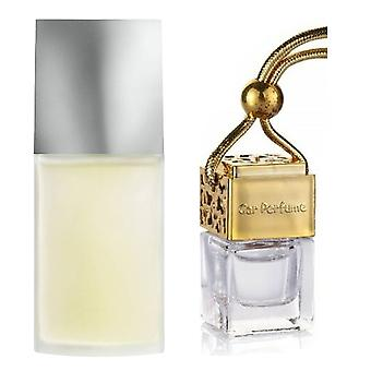Issey Miyake For Him Inspired Fragrance 8ml Gold Lid Bottle Hanging Car Vehicle Auto Air Freshener