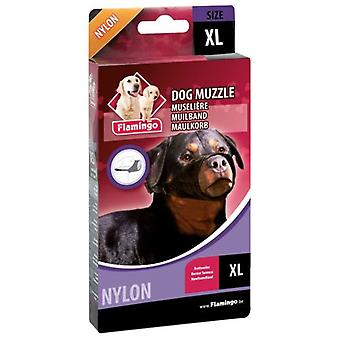 Flamingo Xl Nylon Muzzle Rottweiler (Dogs , Collars, Leads and Harnesses , Muzzles)
