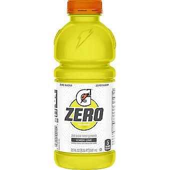 Gatorade Lemon Lime G Zero Sugar -( 591 Ml X 12 Bottles )