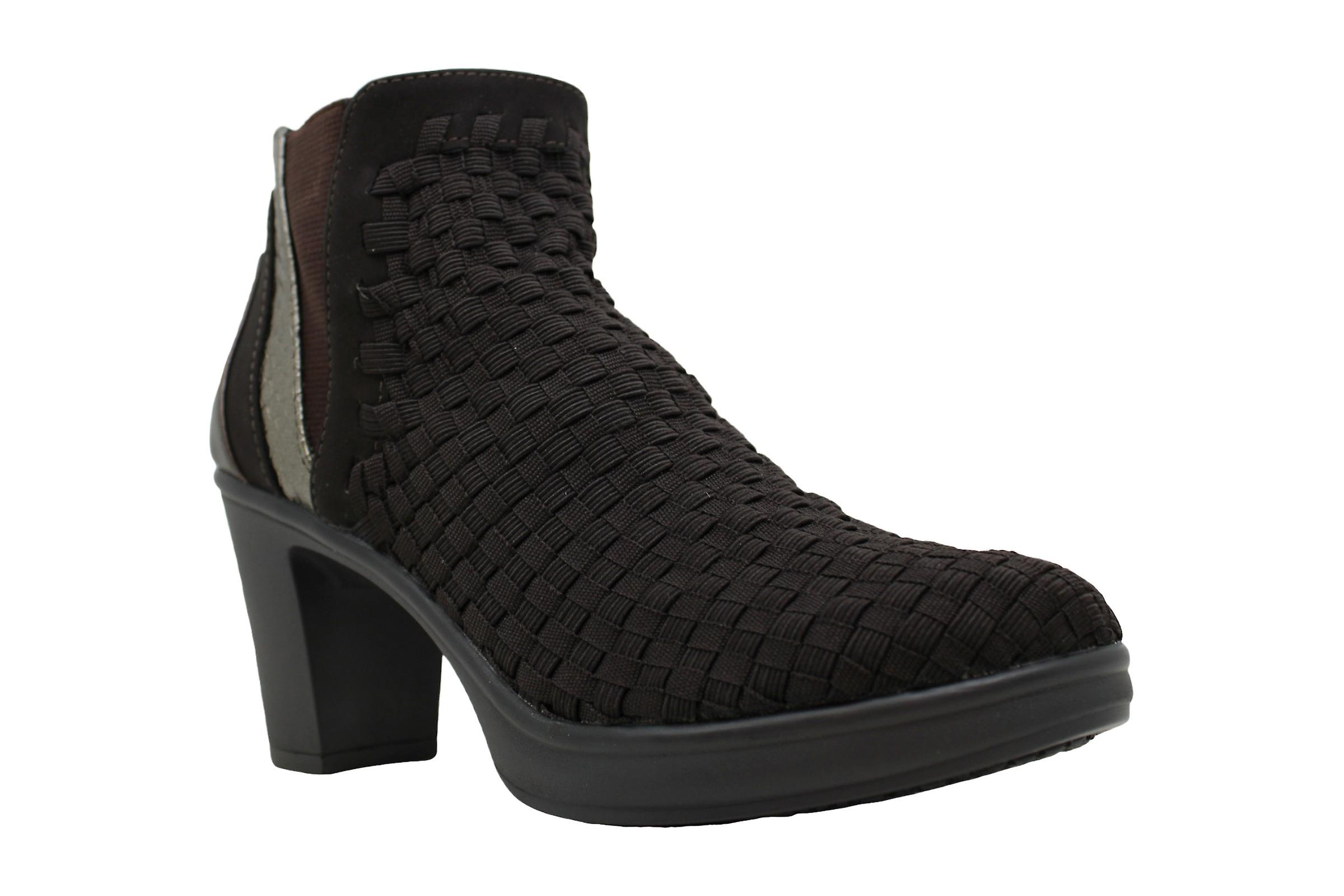 Steve Madden Womens NC-EXCIT Fabric Closed Toe Ankle Fashion Boots QkrqD