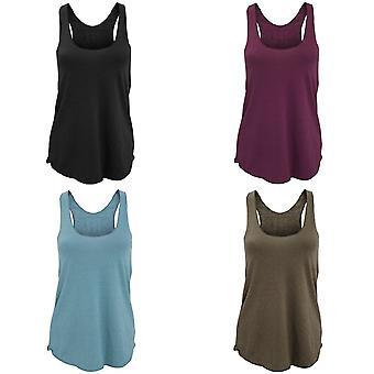 American Apparel Womens/Ladies Plain Tri-Blend Racerback Tank/Vest Top