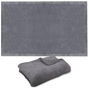 Polyester Pet Blanket  Grey / Gray  90 X 120 Cm  Accessories For Cats And Dogs