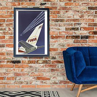 Fly TWA Poster Print Giclee