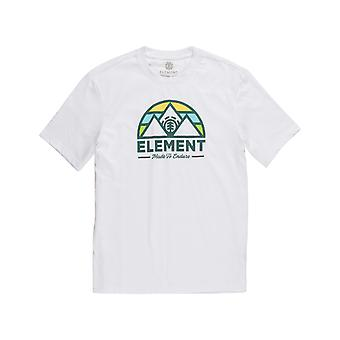 Element Squaw Short Sleeve T-Shirt in Optic White