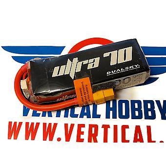 1600 mAh 150C 4s1p 14.8 v, 12 C charge