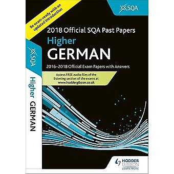 Higher German 2018-19 SQA Past Papers with Answers by SQA - 978151045