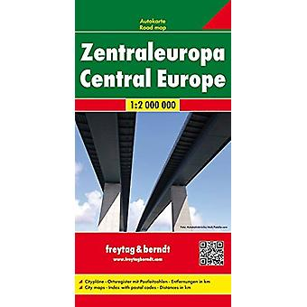 Central Europe Road Map 1 -2 000 000 - 9783707907568 Book