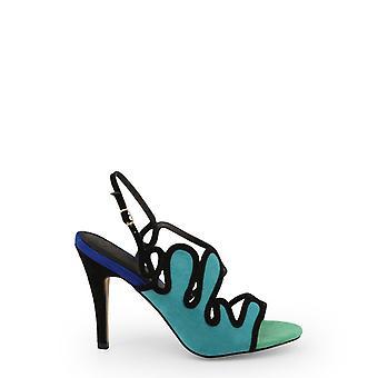 Arnaldo Toscani Women Green Sandals -- 1218250864