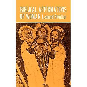 Biblische Affirmationen der Frau