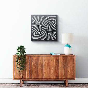 Metal Wall Art - Spiral 3D