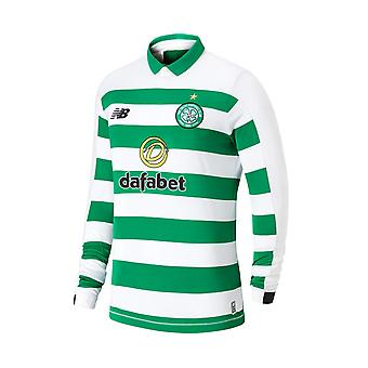 New Balance Celtic FC 2019/20 Mens Long Sleeve Home maillot de foot