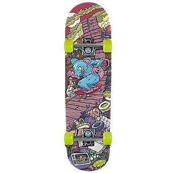 Débutants de Xootz Kid Rat rampe Double Kick Trick Skateboard - pont de l'érable, 31 x 8 pouces