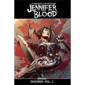 Jennifer Blood Omnibus TPB by Garth Ennis - 9781524108625 Book