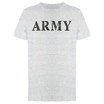 Army Lettering Men's T-shirt