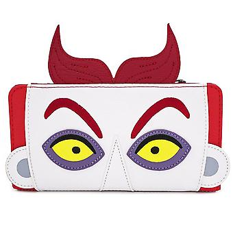 Loungefly Nightmare Before Christmas Lock Faux Leather Flap Wallet