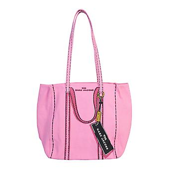 Marc Jacobs M0015787651 Mujeres's Pink Cotton Tote