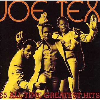 Joe Tex - 25 All-Time Greatest Hits [CD] USA import