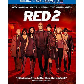 Red 2 [Blu-ray] [BLU-RAY] USA import