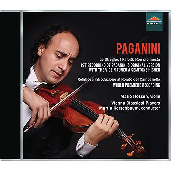 Paganini / Hossen / Prinz - Works for Violin & Orchestra [CD] USA import
