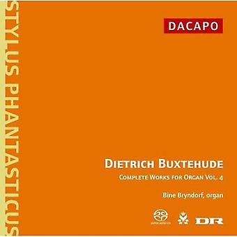 D. Buxtehude - Buxtehude: Complete Works for Organ, Vol. 4 [CD] USA import