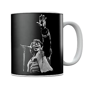 James Brown Live op Wembley 1991 mok