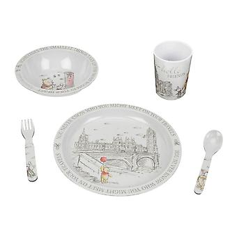 Disney Christopher Robin 5 Piece Dinner Set