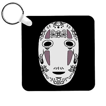 No Face Sugar Skull Studio Ghibli Spirited Away Keyring
