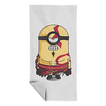 Minion Of War Mini Gott des Krieges Strand Handtuch