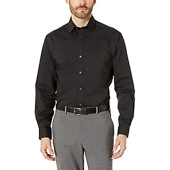 BOTONED ABAJO Hombres's Classic Fit Tech Stretch CoolMax Easy Care Vestido Camisa,...