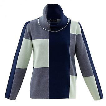 MARBLE Marble Blue Sweater 5904