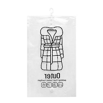 Transparent Dust Cover Vacuum Bag - Clothes Hanging Storage Bag