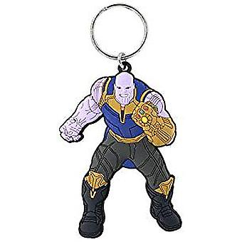 PVC Key Chain - Marvel - Thanos Soft Touch New 68863