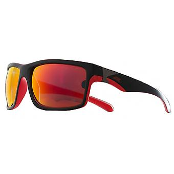 Sunglasses Junior Dropmatt black/red