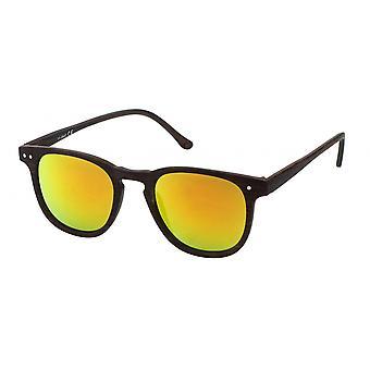Sonnenbrille Unisex  Wayfarer   braun/braun (20-206A)