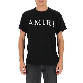 Amiri F0m03236cjblk Men's Zwart Katoen T-shirt