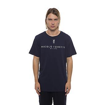 Nicolo Tonetto Blu Navy T-Shirt NI681957-XXL