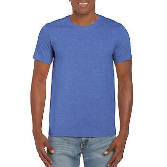 GILDAN G64000 Softstyle Men's T-Shirt in Heather Royal