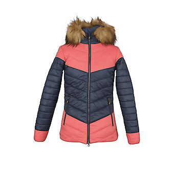 Shires Aubrion Dalston Womens Insulated Jacket - Navy Blue