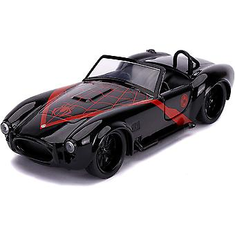 Spiderman Miles Morales 1965 Shelby Cobra 1:32 Hollywd Rd