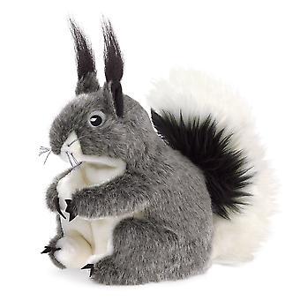 Hand Puppet - Folkmanis - Squirrel Abert's Soft Doll Plush 3101