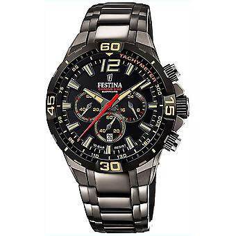 Festina chrono bike limited edition watch for Analog Quartz Men with stainless steel bracelet F20527/1