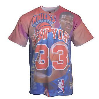 Mitchell & Ness City Pride MN New York Knicks Patrick Ewing BMTRKT18007NYKROYAPEW basquete o ano todo